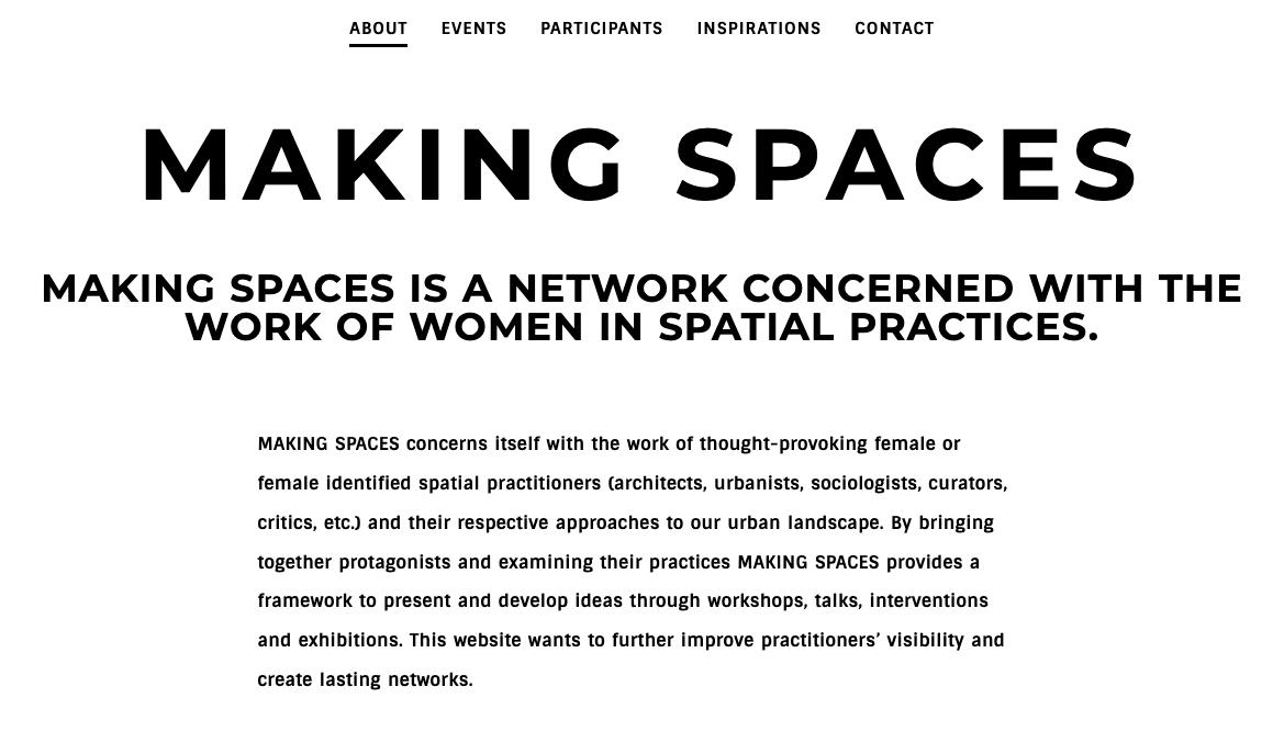 Discursive/ Making spaces